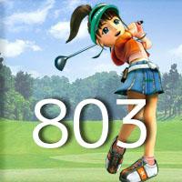 女子ゴルフTVキャプの跡803