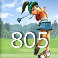 女子ゴルフTVキャプの跡805