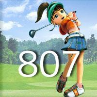 女子ゴルフTVキャプの跡807