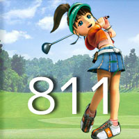 女子ゴルフTVキャプの跡811