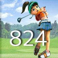 女子ゴルフTVキャプの跡824