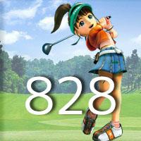 女子ゴルフTVキャプの跡828