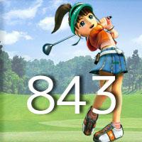 女子ゴルフTVキャプの跡843