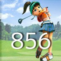 女子ゴルフTVキャプの跡856
