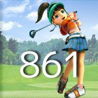 女子ゴルフTVキャプの跡861