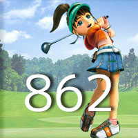 女子ゴルフTVキャプの跡862