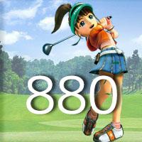 女子ゴルフTVキャプの跡880