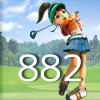 女子ゴルフTVキャプの跡882