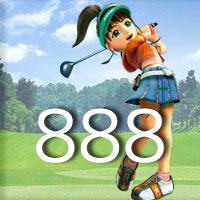 女子ゴルフTVキャプの跡888