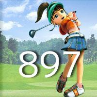 女子ゴルフTVキャプの跡897