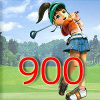 女子ゴルフTVキャプの跡900