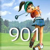 女子ゴルフTVキャプの跡901