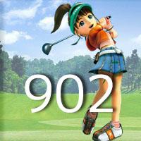 女子ゴルフTVキャプの跡902