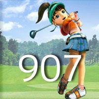 女子ゴルフTVキャプの跡907