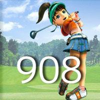 女子ゴルフTVキャプの跡908