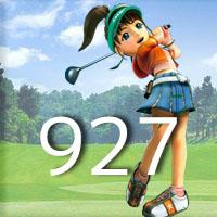 女子ゴルフTVキャプの跡927