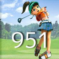 女子ゴルフTVキャプの跡951