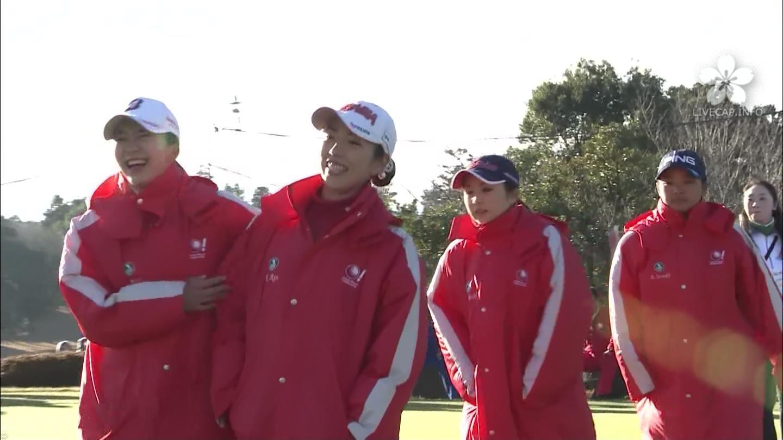 LPGA(イボミ/申ジエ/笠りつ子/鈴木愛/菊地絵理香/堀琴音)
