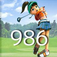 女子ゴルフTVキャプの跡986