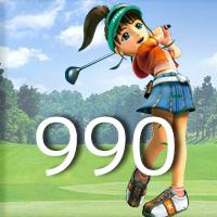 女子ゴルフTVキャプの跡990