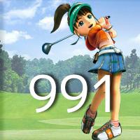 女子ゴルフTVキャプの跡991