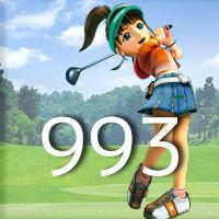 女子ゴルフTVキャプの跡993