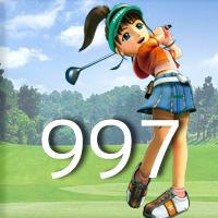 女子ゴルフTVキャプの跡997